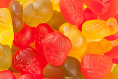 Colorful jelly candies Royalty Free Stock Images