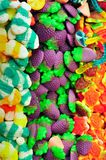 Colorful jelly candies composition Royalty Free Stock Photos