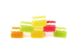 Colorful jelly candies Stock Images