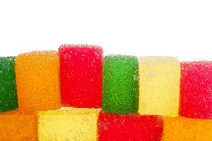 Colorful jelly candies Stock Photo