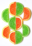 Colorful Jelly Candy as Background Stock Image