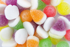 Colorful Jelly Candy Background Royalty Free Stock Photos
