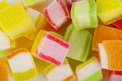 Colorful jelly candy Stock Photo