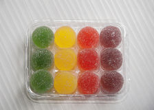 Colorful jelly candy Royalty Free Stock Image