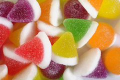 Colorful jelly candy Royalty Free Stock Images