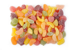 Colorful jelly candy Stock Images