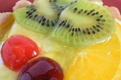 Colorful jelly fruit Stock Image