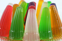 Colorful jelly. Royalty Free Stock Images