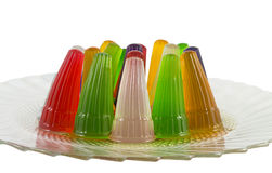 Colorful jelly. Stock Photos