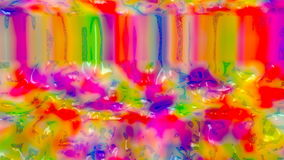 Colorful jelly. Loopable animation. stock video