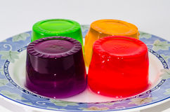 Colorful jelly Stock Photos