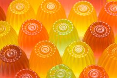 Colorful jelly Royalty Free Stock Images