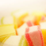 Colorful jelly in soft and blur style Royalty Free Stock Photography