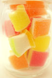 Colorful jelly in soft and blur style Stock Photography