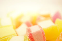 Colorful jelly in soft and blur style Stock Images