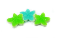 Colorful jelly star Stock Photo