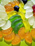 Colorful jelly sweets stock photo