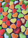 Colorful jelly sweets pattern Stock Photography