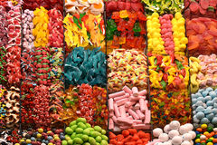 Colorful jelly sweets Royalty Free Stock Photography