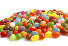 Colorful jellybeans Stock Photography