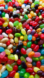 Colorful Jellybeans. Yummy candy colorful Jellybeans Stock Photos