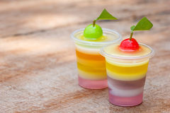 Colorful jellys Royalty Free Stock Image