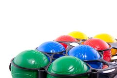 Colorful Jeu de boules balls Royalty Free Stock Photo