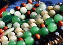 Colorful jewel Stock Images