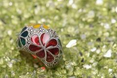 Colorful jewel Stock Photos