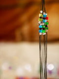 Colorful Jewelery. Artificial jewelery with colorful beads stock image