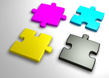 Colorful Jigsaw Royalty Free Stock Image
