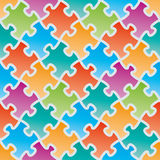 Colorful jigsaw puzzles. Stock Photography