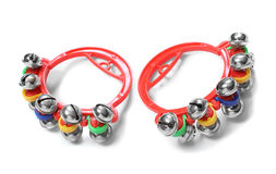 Colorful jingle bells. Stock Image
