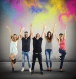 Colorful joy Stock Photos