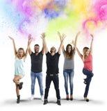 Colorful joy Royalty Free Stock Photos