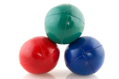 Colorful juggle balls Royalty Free Stock Image