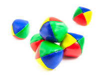 Colorful Juggling Balls Royalty Free Stock Image