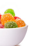 Colorful jujube Royalty Free Stock Images