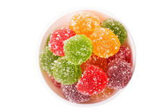 Colorful jujube Stock Photography