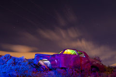 Colorful Junker Car Stock Photos