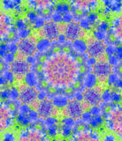 Colorful Kaleidoscope. Hand Painted Background Altered With Photoshop Stock Photo