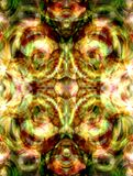 Colorful kaleidoscope Stock Images