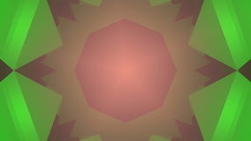 Colorful kaleidoscope background. Loopable animation stock footage