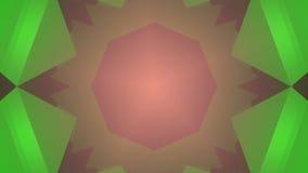 Colorful kaleidoscope background. Loopable animation stock footage