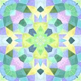 Colorful kaleidoscope with so many ornaments and color, seamless texture royalty free illustration