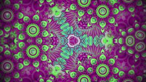 Colorful kaleidoscope sequence patterns. Abstract multicolored motion graphics background. Beautiful bright ornament stock illustration