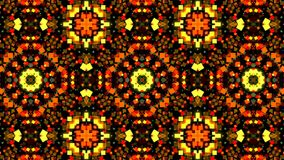 Colorful Kaleidoscopic Video Background. Abstract backdrop. royalty free illustration
