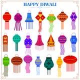 Colorful Kandil for Diwali decoration Stock Photo