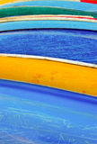 Colorful Kayak Royalty Free Stock Photography