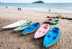 Colorful kayak Royalty Free Stock Photos